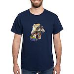 Carousel Horses Dark T-Shirt