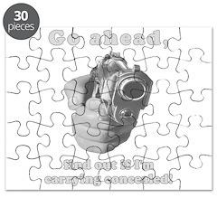 Concealed Gun CCW Puzzle