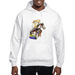 Carousel Horses Hooded Sweatshirt