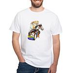 Carousel Horses White T-Shirt