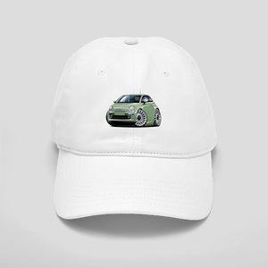 Fiat 500 Lt. Green Car Cap