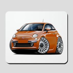 Fiat 500 Copper Car Mousepad