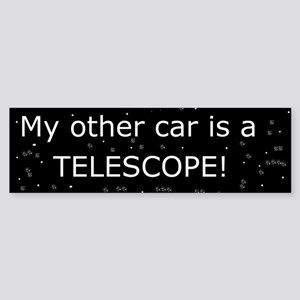 My other car is a telescope Sticker (Bumper)