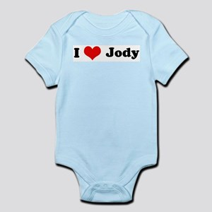 I Love Jody Infant Creeper