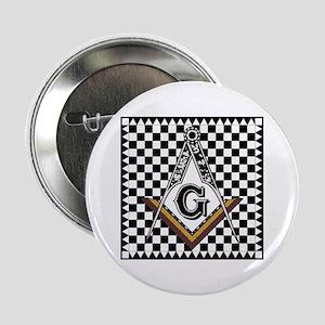 """Mosaic Pavement 2.25"""" Button"""
