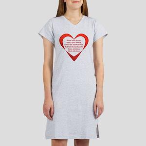 SATC Carrie Love Story Women's Nightshirt