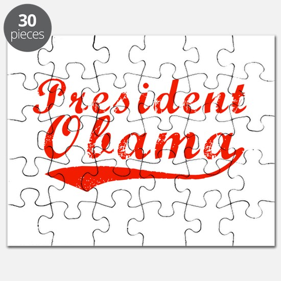 President Obama Red Puzzle