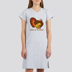 Thanksgiving Gobble Women's Nightshirt