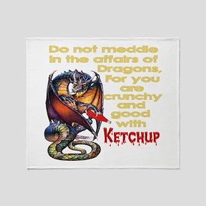 Dragons Throw Blanket