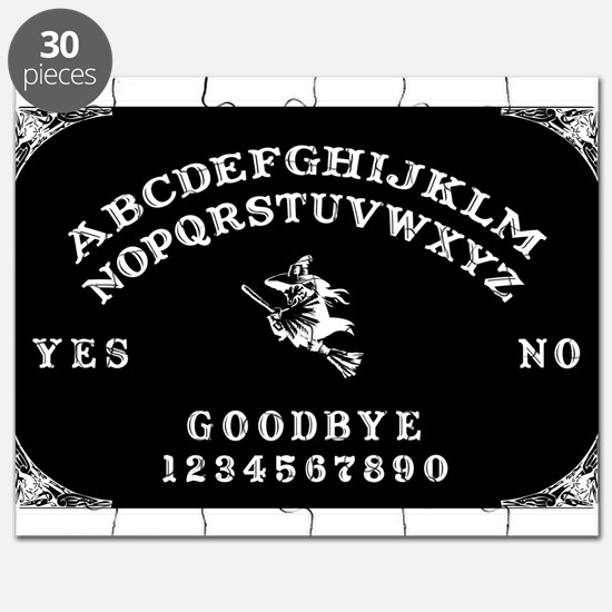 Witch Ouija Board Puzzle