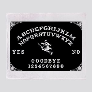 Witch Ouija Board Throw Blanket