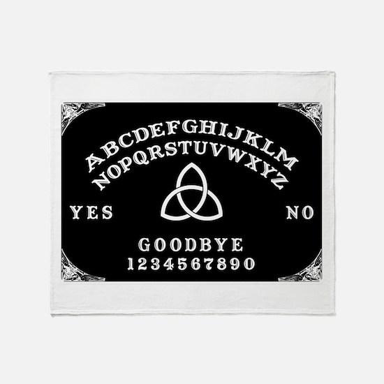 Ouija Board Throw Blanket