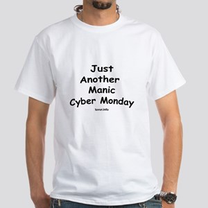Cyber Monday White T-Shirt