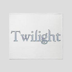 Vampire Movie Twilight Throw Blanket