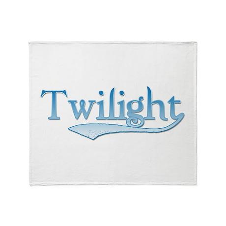 Blue Twilight Movie Throw Blanket