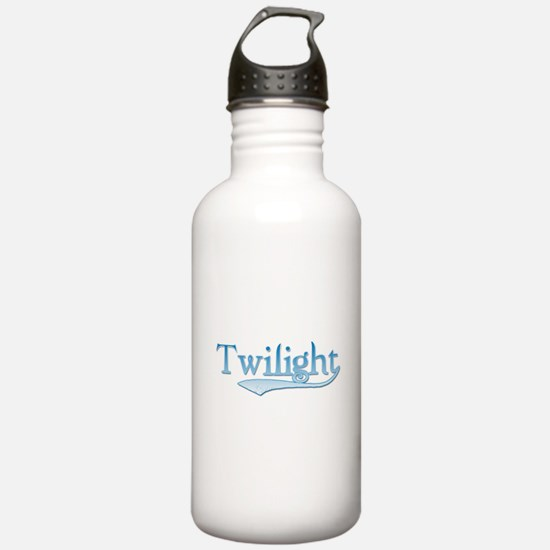 Blue Twilight Movie Water Bottle
