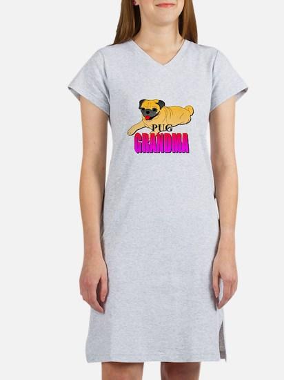 Fawn Pug Grandma Women's Nightshirt