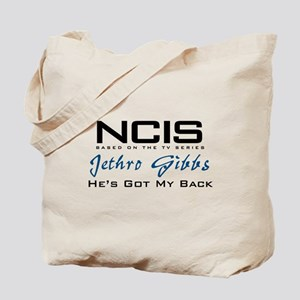 Gibbs He's Got My Back Tote Bag