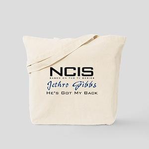 Gibbs He's Got My Back Tote Bag