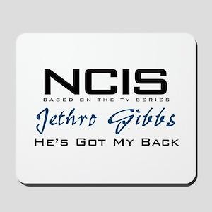Gibbs He's Got My Back Mousepad