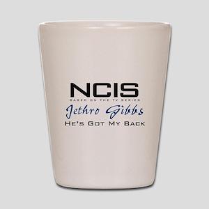 Gibbs He's Got My Back Shot Glass
