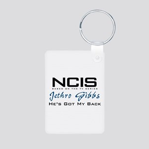Gibbs He's Got My Back Aluminum Photo Keychain