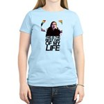 """""""Best day of my life"""" women's pink tee"""