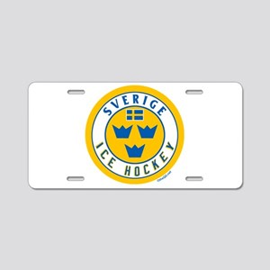 SE Sweden/Sverige Hockey Aluminum License Plate