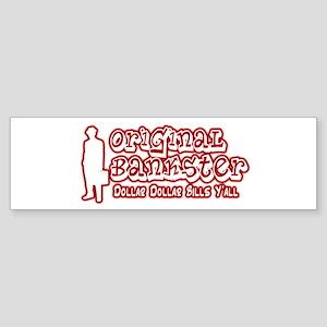 Original Bankster Sticker (Bumper)