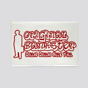Original Bankster Rectangle Magnet