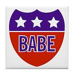 Babe Tile Coaster