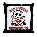 Bad Bitches Underground Throw Pillow