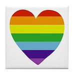Heart Full of Pride Tile Coaster