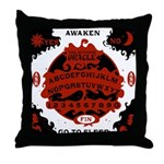 Witches' Oracle Throw Pillow