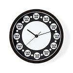 F-U Wall Clock