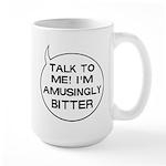 I'm Bitter Large Mug for Lefties