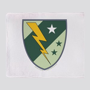 Lightning Lass Symbol Throw Blanket
