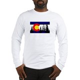 Colorado flag Long Sleeve T-shirts