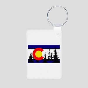 Colorado Aluminum Photo Keychain