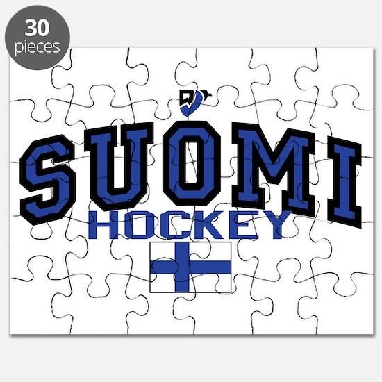 Finland Suomi Hockey Leijonat Puzzle