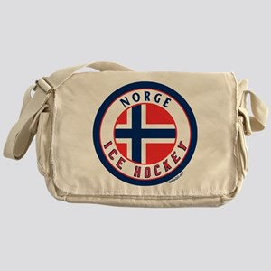 NO Norway/Norge Ice Hockey Messenger Bag