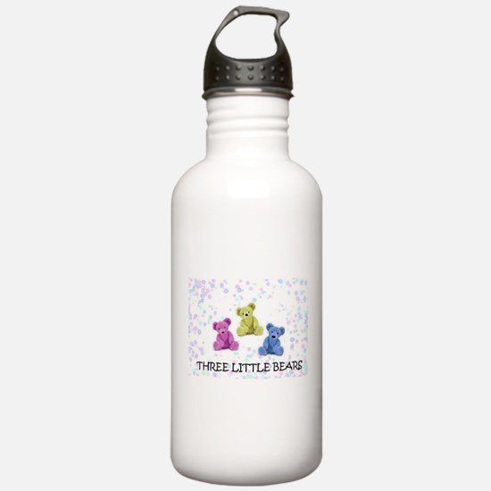three little bears Water Bottle