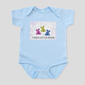 three little bears Infant Bodysuit