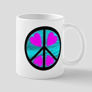 Peace Symbol with Heart™ Mug