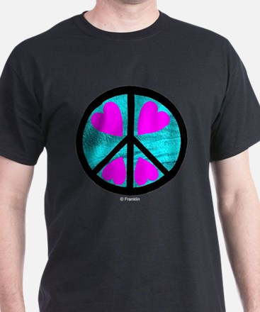 Peace Symbol with Heart™ T-Shirt