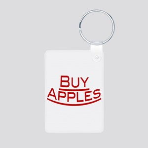 Buy Apples Aluminum Photo Keychain