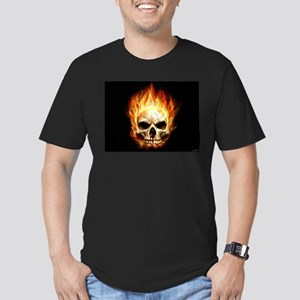 Skull Men's Fitted T-Shirt (dark)