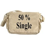 50% Single Messenger Bag