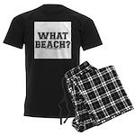 What Beach? Men's Dark Pajamas