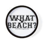What Beach? Wall Clock